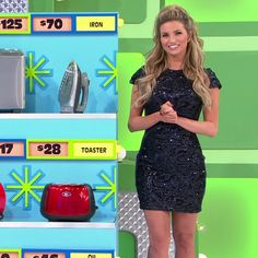 Amber Lancaster - The Price Is Right (2/6/2018) ♥️