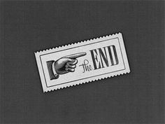 The End | Badge