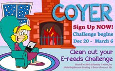 Clean Out Your E-reads Challenge [December 20, 2014 to March 6, 2015]