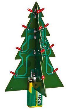 Recycled LED Xmas Tree $9.99