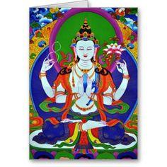 Bodhisattva Quotes | Buddha Bodhisattva Avalokitesvara Compassion Greeting Cards