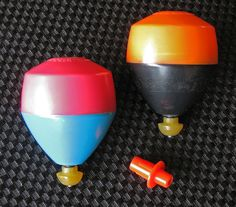 WIZ-Z-ZER Late 1960's - Early 1970s Gyroscope Top Toys by Skookum Industries, via Flickr