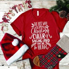 Merry Christmas, Christmas In July, Christmas Baubles, Christmas Sweaters, Vinyl Christmas Shirts, Christmas Tops, Christmas Outfits, Christmas Fashion, Christmas Decor