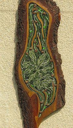 Jack O the Green by Gillian Swanink  ~  Maplestone Gallery  ~ Contemporary Mosaic Art
