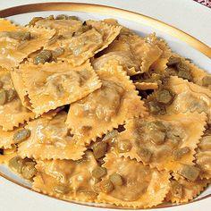 Recipe for Artichoke Ravioli : La Cucina Italiana
