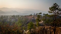 Canyon Pai. Pai, Thailand. Such a great place to spend a day and see a sunset!