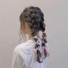 Kawaii Hairstyles, Pretty Hairstyles, Hair Inspo, Hair Inspiration, Hair Reference, Aesthetic Hair, Grunge Hair, Mode Outfits, Hair Looks