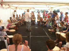 Pennine Rumblers drumming away Star Festival, South Yorkshire, Barnsley, In The Heart, Stars, Music, Muziek, Musik, Songs