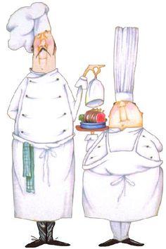 Fat chef cartoon chef cartoon fat italian chef - Commi de cuisine paris ...