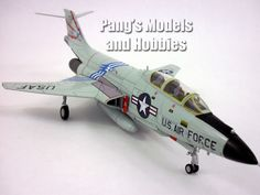 McDonnell F-101 Voodoo 1/72 Scale Diecast Metal Airplane by Hobby Master