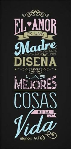 Mothers Day Quotes, Mom Quotes, Happy Mothers Day, Family Quotes, Mr Wonderful, I Love Mom, Mom Day, More Than Words, Spanish Quotes