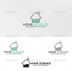 Home Science - Logo Template - Buildings Logo Templates