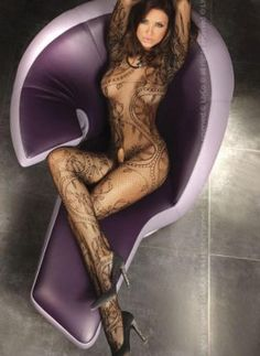 #Abra is an extremely #desirable #bodystocking manufactured by the Livia Corsetti Fashion. It is a #seductive long-sleeved bodystocking made of soft and elegant #stocking material. Abra is close-fit #lingerie which perfectly emphasizes your body shape and #curves. Browse the image for more details.