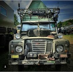 Land Rover 109 Serie III Sw- Adventure camping off road prepared. Perfect!