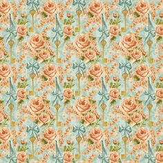 """""""Coming Up Roses"""" front page from our new collection Secret Garden. In stores February! #graphic45 #CHAshow #CHAW2013"""