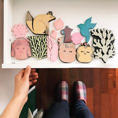"""45 Gostos, 7 Comentários - Joana Rosa Bragança (@joanarosab) no Instagram: """"My growing collection of hand carved stamps! I really like the process of making these lovelies and…"""""""