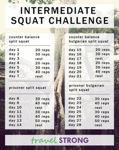 Intermediate Squat Challenge