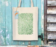#Woodland Trees Fair Trade Tote Bag Reusable Shopper Bag Cotton Tote Shopping Bag Eco Tote Bag Ceridwen Hazelchild Design
