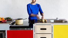 mobile classroom kitchen idea