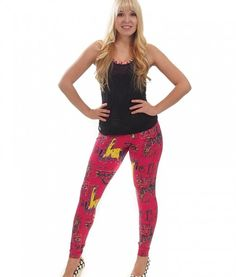 Camboriu California Red leggings
