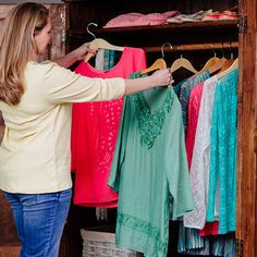The bright, full tones of Cracker Barrel spring fashions will give your wardrobe a beautiful pop of color.