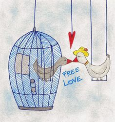 Disegnicolmouse: Free Love