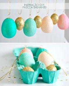 Que tal usar ovos na decoração? Veja como fazer: http://www.casadevalentina.com.br/blog/materia/inspira-o-diy-de-p-scoa.html #idea #ideia #creative #criativa #ovo #eggs #casadevalentina