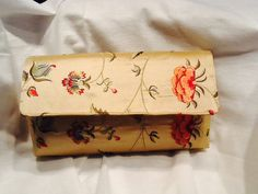 Clutch Purse India 100 Silk Colette Embroidery by TogetherThreads, $30.00