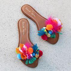 Tutti Frutti, More And Less, Ball Decorations, Jordan 5, Greek Sandals, Custom Shoes, Shoe Collection, Dior, Ideias Fashion