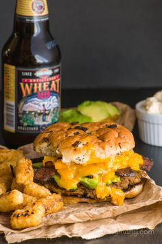 If you're into loaded burgers, with bacon and dripping melted cheese, and slathered mayo, and you've ever wondered if vegans feel the same…wonder no more. Introducing the Ultimate Veggie Burger recipe. For your loaded veggie burger loving heart!