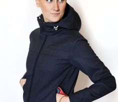 LUMO Regents Parka cycling jacket with sculpted outer cuffs with Lycra® inner cuffs for wind proofing
