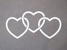 Image result for infinity 3 hearts