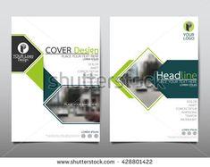 Blue Curve Technology Annual Report Brochure Flyer Design Template