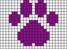 Alpha friendship bracelet pattern added by little_one. Easy Perler Bead Patterns, Melty Bead Patterns, Bead Loom Patterns, Perler Bead Art, Bracelet Patterns, Beading Patterns, Crochet Patterns, Cross Stitch Bookmarks, Cross Stitch Embroidery