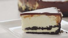 Chocolate Cookie Cheesecake Video