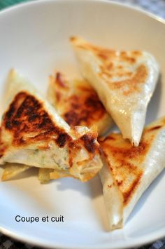 Bricks au thon et à la ricotta Tapas, Healthy Cooking, Healthy Snacks, Snack Recipes, Cooking Recipes, Good Food, Yummy Food, Ramadan Recipes, Chorizo