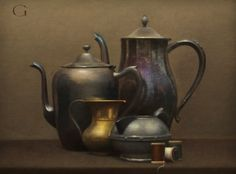 "David Gray ""Teapot Cluster"" (oil)"
