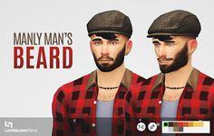 My Sims 4 Blog: Hair - Facial