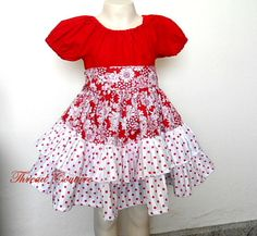 Sewing Patterns for Girls Dresses and Skirts: Ruffled Peasant Dress Sewing Pattern, Allana Ruffled Peasant Dress Sewing Tutorial Dress Sewing Tutorials, Sewing Patterns Girls, Peasant Dress Patterns, Peasant Dresses, Little Girl Dresses, Girls Dresses, How To Look Classy, Girly Outfits, Short