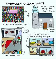I'm not even an introvert and some of these features look cool.