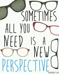 Sometimes all you need is a new perspective! #quote