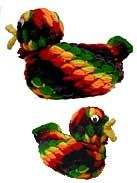 Crochet Jelly Bean Duck // my grandma had one of these in her house. It was always filled!