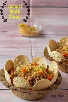 Matki Chaat is our healthy and nutritious take on Chaat which has earned a reputation of being an oily, spicy and fried. Well if you think Chaat is synonymous to unhealthy food, you will be in for a pleasant surprise with Matki Chaat Indian Snacks, Indian Food Recipes, Vegetarian Recipes, Snack Recipes, Cooking Recipes, Vegetarian Starters, Puri Recipes, Indian Foods, Cooking Tips