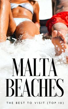 #Malta travel this summer? Use this list of the best paradise beaches and most beautiful bays - they're great places to visit for fun in the sand! Free Travel, Travel Tips, Travel Plan, Travel Advice, Travel Essentials, Malta Map, Malta Italy, Malta Travel Guide, St Lucia Resorts