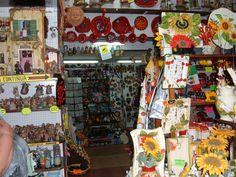 Un negozio tipico del centro