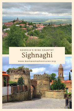 A guide to Kakheti, Georgia's wine region, and Kakheti's lovely capital Sighnaghi, also called the town of lovers. Find out what there is to see and do in and around Sighnaghi.