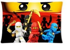 """1 X Ninjago Pillowcases Custom 20""""x30"""" Two Sides Cool Comfortable Pillow Case Daily Necessities http://www.amazon.com/dp/B00XP9Y41O/ref=cm_sw_r_pi_dp_07M1wb0D3M4Y7"""