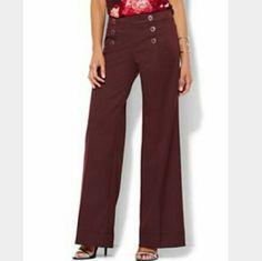 Studio Y sailor inspired trouser Studio y size 9-10 sailors style trouser pants in excellent condition Studio Y Pants