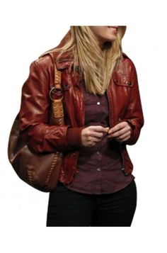 The Big Bang Theory American TV Program Kaley Cuoco Jacket at Reasonable Price $129.00 Womens Burgundy Leather Bomber Jacket role as Penny. #KaleyCuocoLeatherJacket #TheBigBangTheory #Penny #KaleyCuoco #OOTD #LeatherJacket #MoviesJacket #WomensWear #Fashion #BrownJacket #Outfit #Jacket