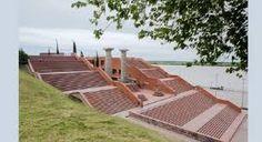 Resultado de imagen para imagenes de los galpones del parque españa en rosario